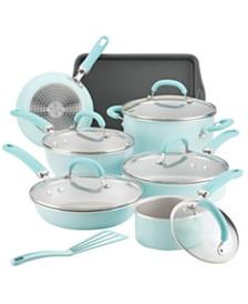 Create Delicious Aluminum Nonstick 13-Pc. Cookware Set
