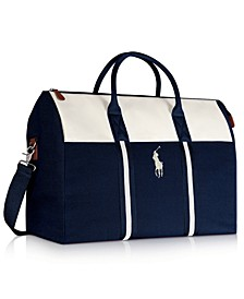 Receive a Complimentary Duffle with any large spray purchase from the Polo Blue Fragrance Collection