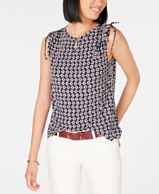 Tommy Hilfiger Floral-Print Top, Created for Macy's