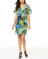 f989512740f Printed Thalia Sodi Necklace Shift Dress, Created for Macy's