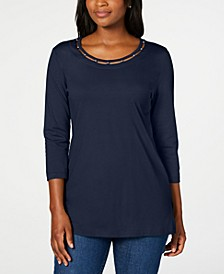 Beaded Top, Created for Macy's