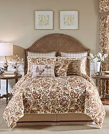 Delilah 4pc Cal King Comforter Set