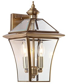 "Virginia 14.5""H Double Light Sconce"