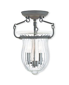 CLOSEOUT! Livex   Andover 2-Light Ceiling Mount