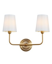 Safavieh Ezra Two Light Wall Sconce