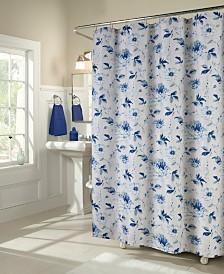 M.Style Peony Shower Curtain