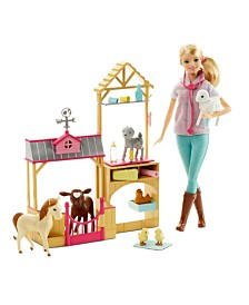 Barbie Farm Vet Set