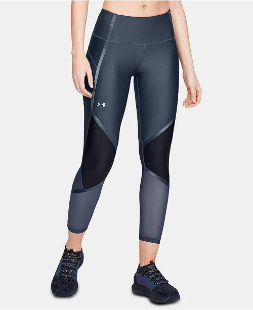 Under Armour Women's Shine HeatGear® Colorblocked Compression Leggings