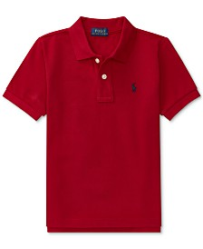 Polo Ralph Lauren Little Boys Pique Polo