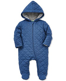 Baby Boys Cotton Quilted Coverall