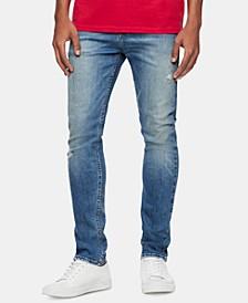 Men's Skinny-Fit Stretch Destroyed Jeans