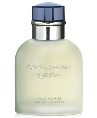 DOLCE&GABBANA Men's Light Blue Pour Homme Eau de Toilette Spray, 2.5 oz.