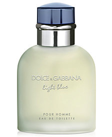 DOLCE&GABBANA Men's Light Blue Pour Homme Eau de Toilette Spray, 4.2 oz.