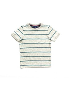 Toddler Boy Striped Short Sleeve Tee