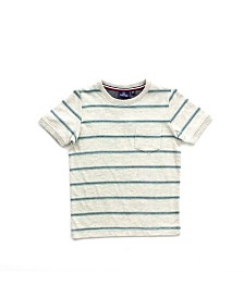 Bear Camp Toddler Boy Striped Short Sleeve Tee