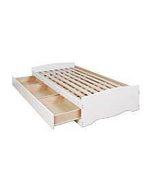 Prepac Twin Mate's Platform Storage Bed with 3 Drawers