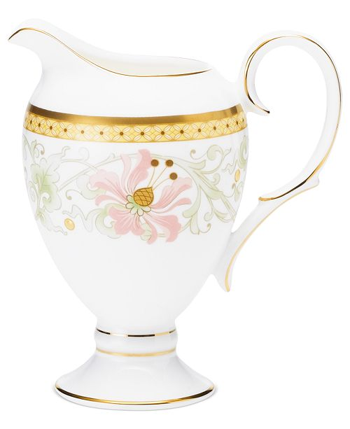 Noritake Dinnerware, Blooming Splendor Creamer