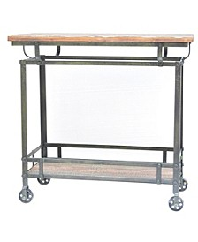 Pressley Kitchen Island, Quick Ship