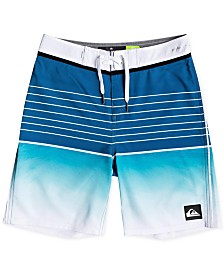 Quiksilver Big Boys Highline Colorblocked Swim Trunks