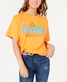 Mighty Fine Juniors' Cotton Fanta Graphic T-Shirt