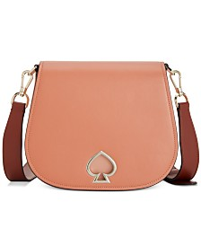 kate spade new york Suzy Saddle Leather Crossbody