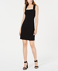 Square-Neck Crisscross-Back Dress, Created for Macy's