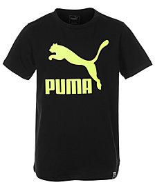 Puma Big Boys Logo-Print T-Shirt