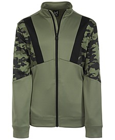 Big Boys Camo Colorblocked Jacket, Created for Macy's