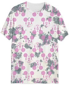 Mickey Mouse Men's UV Sunlight Activated Tie Dyed T-Shirt