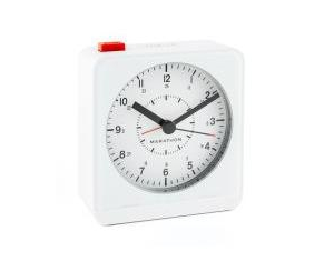 Marathon Silent Non-Ticking Alarm Clock