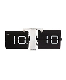 Flipping Out Wall Clock