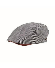 San Diego Hat Men's Linen Blend Stripe Driver