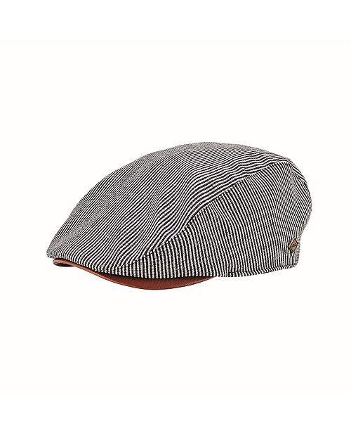 San Diego Hat Company San Diego Hat Men's Linen Blend Stripe Driver