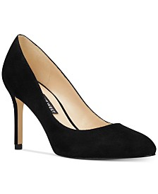 Nine West Dylan Round-Toe Pumps
