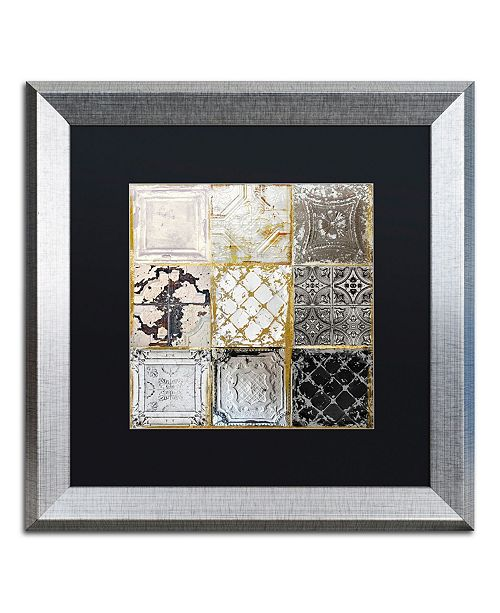 """Trademark Global Color Bakery 'Tintypes' Matted Framed Art - 16"""" x 16"""""""