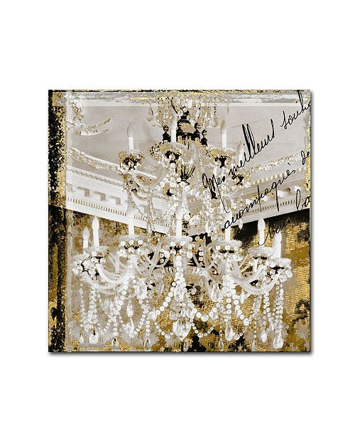 """Trademark Global Color Bakery 'Chand 2' Canvas Art - 14"""" x 14"""""""