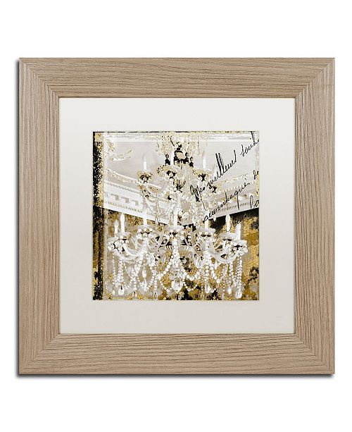 """Trademark Global Color Bakery 'Chand 2' Matted Framed Art - 11"""" x 11"""""""