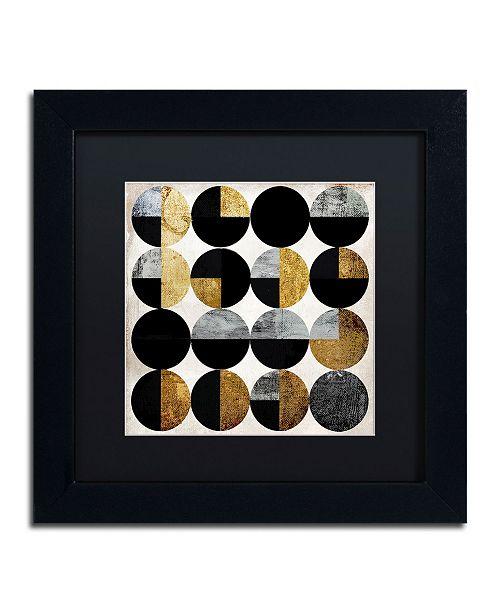 "Trademark Global Color Bakery 'Conversation' Matted Framed Art - 11"" x 11"""