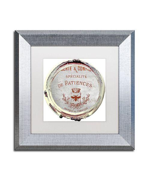 "Trademark Global Color Bakery 'Paris in Frames 2' Matted Framed Art - 11"" x 11"""