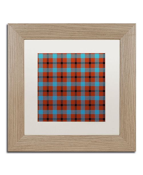 "Trademark Global Color Bakery 'Group 10 A' Matted Framed Art - 11"" x 11"""