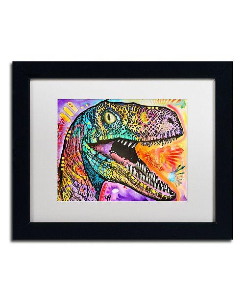"Trademark Global Dean Russo 'Raptor' Matted Framed Art - 11"" x 14"""