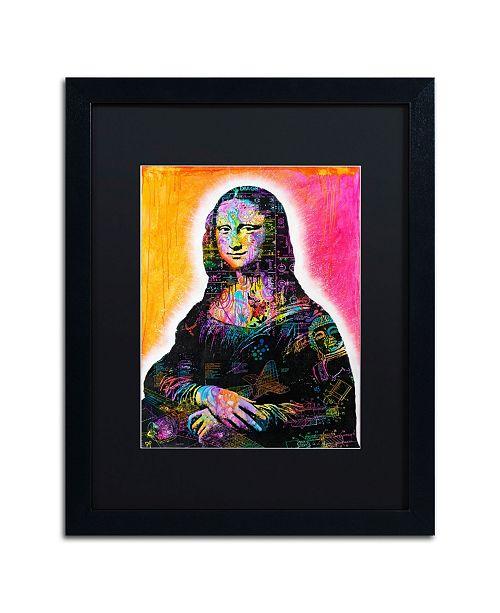 "Trademark Global Dean Russo 'Mona Lisa' Matted Framed Art - 16"" x 20"""