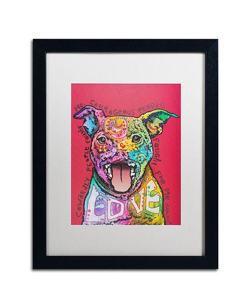 """Trademark Global Dean Russo 'Khalessi' Matted Framed Art - 16"""" x 20"""""""