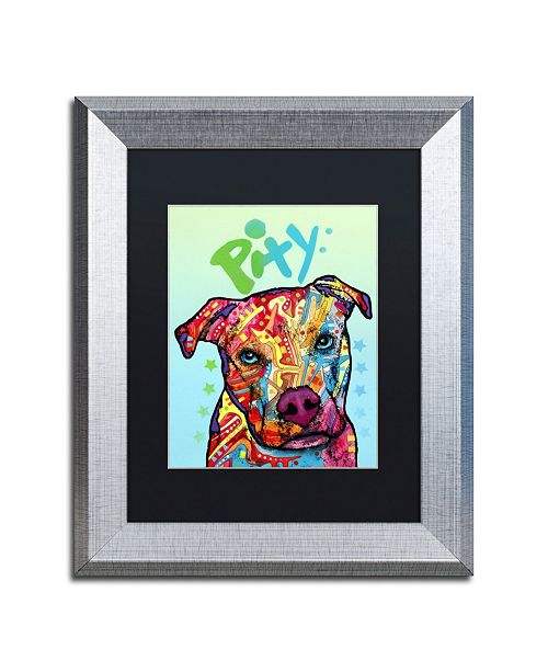 """Trademark Global Dean Russo 'Pity' Matted Framed Art - 11"""" x 14"""""""