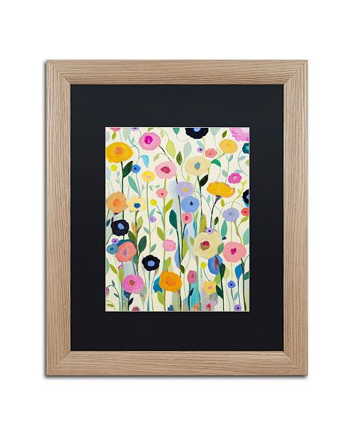"Trademark Global Carrie Schmitt 'Songs of Joy' Matted Framed Art - 16"" x 20"""