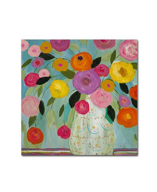"""Trademark Global Carrie Schmitt 'Fiesta' Canvas Art - 24"""" x 24"""""""