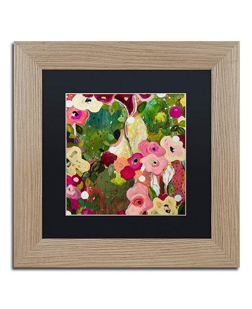 """Trademark Global Carrie Schmitt 'Intuition' Matted Framed Art - 11"""" x 11"""""""
