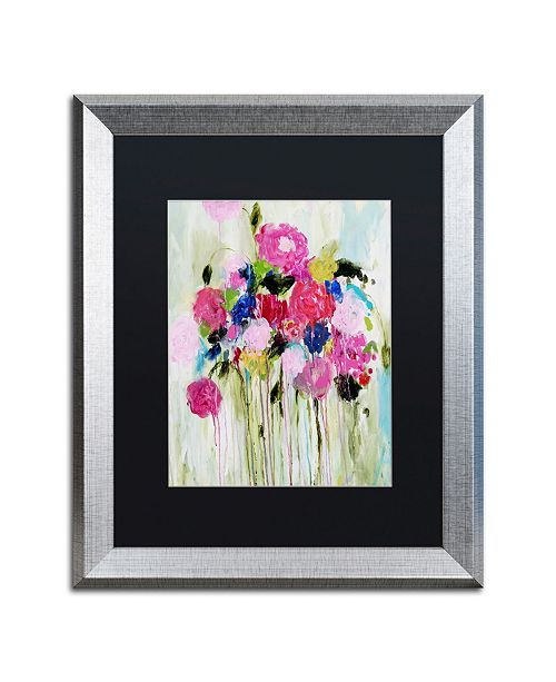 "Trademark Global Carrie Schmitt 'Mi Amor' Matted Framed Art - 16"" x 20"""