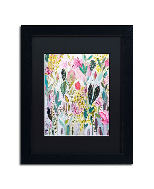 "Trademark Global Carrie Schmitt 'Meadow' Matted Framed Art - 11"" x 14"""