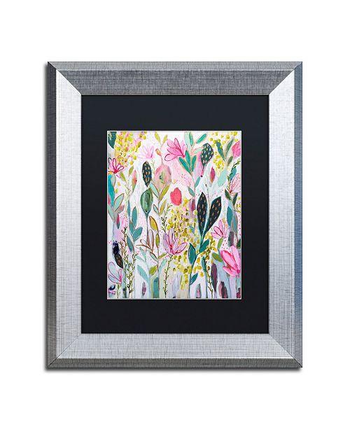 """Trademark Global Carrie Schmitt 'Meadow' Matted Framed Art - 11"""" x 14"""""""